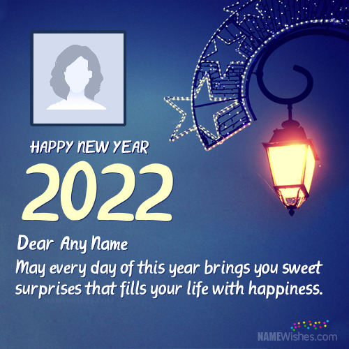 2021 New Year Wishes With Name For Everyone