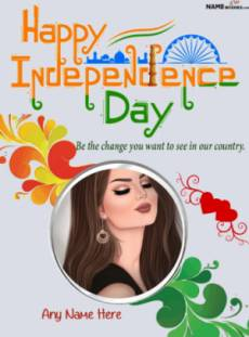 India WhatsApp Independence Day Images With Name