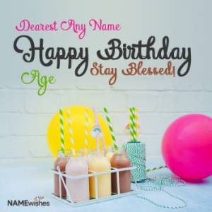 Amazing Happy Birthday Wishes for Brother with Name