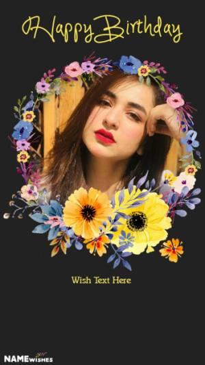 Best Birthday Whatsapp Status With Photo and Wish