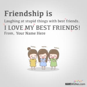 Best Ever Friendship Quotes With Friend Names