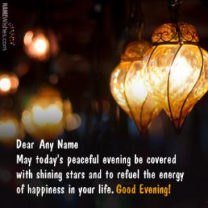 Best Ever Good Evening Quotes With Name