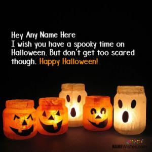 Best Halloween Wishes With Your Name