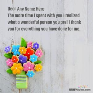 Best Thank You Cards With Name