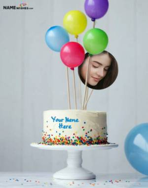 Birthday Cake With Name and Photo - Best for Friends