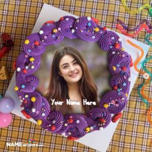Birthday Cake With Name For Girls