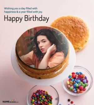 Birthday Cake with Photo - Everyone will Love This Cake
