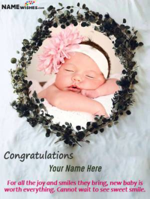 Congratulations On Having Your First Baby In your Arms