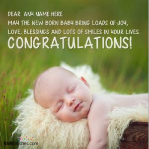Congratulations Wishes For New Born Baby