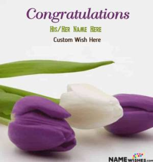 Congratulations Images With Name and Photo