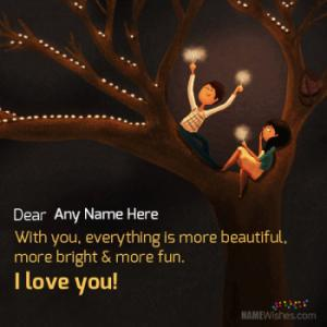 Love Images With Name and Photo