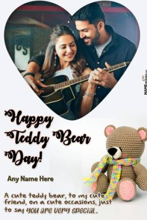 Happy Teddy Day Wishes With Name and Photo - Love Messages