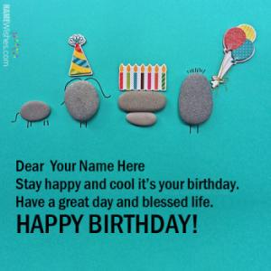 Fabulous Happy Birthday Wishes With Name