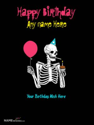 Funny Birthday Wish with Name For Best Friends