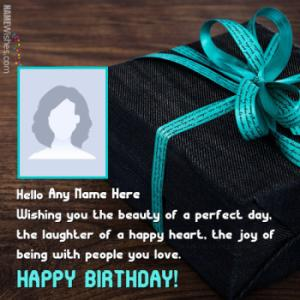 Happy Birthday Wishes With Name Option