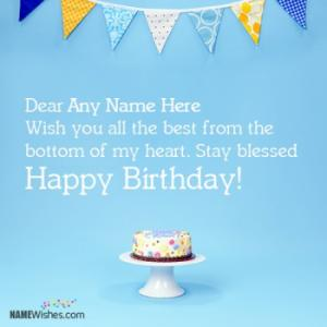 Happy Birthday Wishes With Name