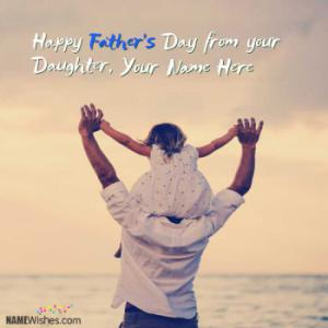 Happy Fathers Day Wishes With Name