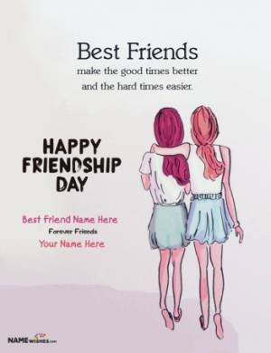Happy Friendship Quotes With Name For Girls