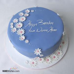 Heart Birthday Cake For Friends