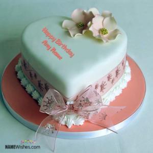 Heart Birthday Cake For Girlfriend