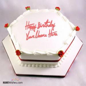 Icecream Birthday Cake For Friends