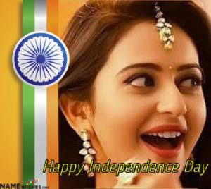 India Happy Independence Day Quotes in Urdu with Name and Photo
