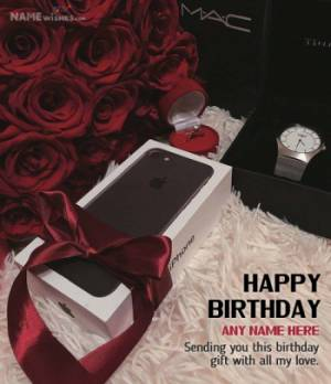 Iphone Personalized Birthday Gift for Friends