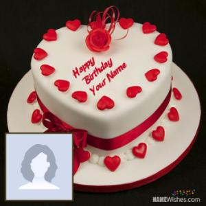 Lovely Birthday Cake With Name For Lover