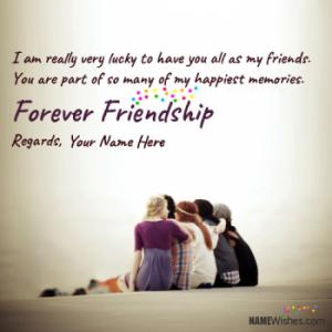 New Happy Friendship Quotes With Name