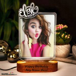 Personalized Birthday Gift - Love LED Photo Frame