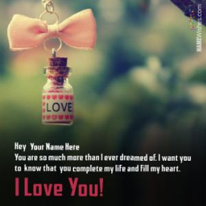 PS I love You Images With Name