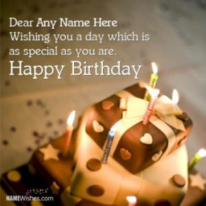 Special Birthday Wish With Any Name