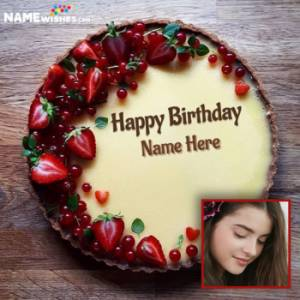 Birthday Cakes With Name And Photo For All Relations