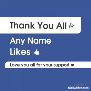 Thank You For FB Likes Followers Image For Fans