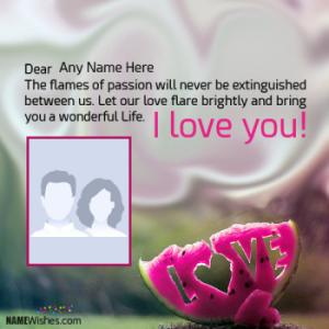 Top I Love You Quotes With Name and Pic Editing