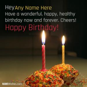 Birthday Wishes With Name And Photo For All Happy Relations