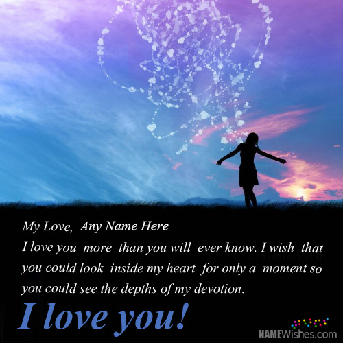 Beautiful Love Quotes With Names
