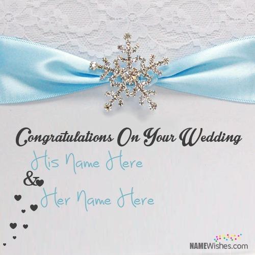 Beautiful Wedding Wish For Couple