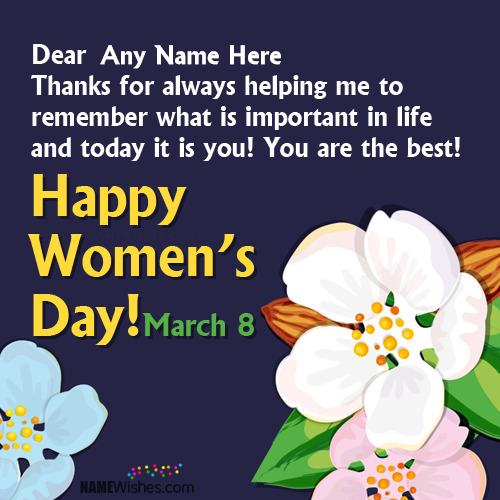 Best Ever International Women's Day Wishes