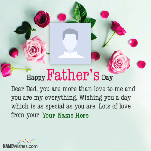 Best Fathers Day Wishes With Name