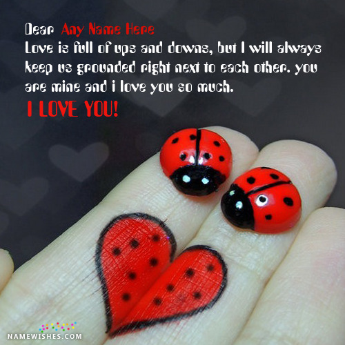 Best Images of Love With Name and A Cute Love Message