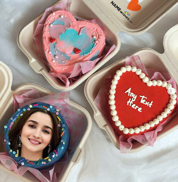 Birthday Cupcakes With Photo and Name