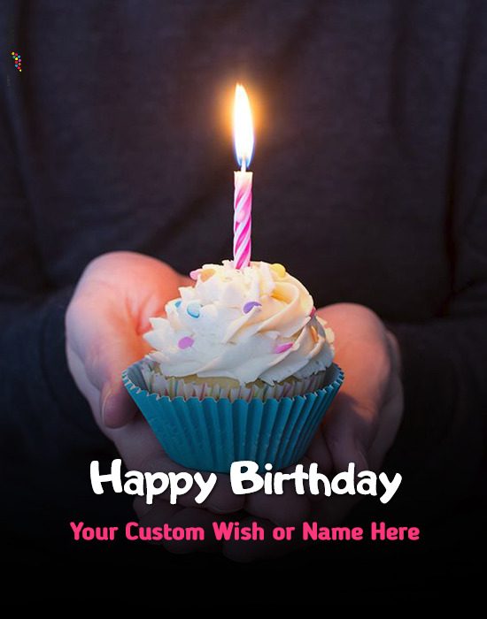 Birthday Wish With Name and Pic Edit Online Maker