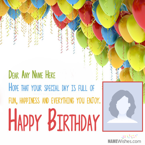 Birthday Wishes For Friend With Name Editing