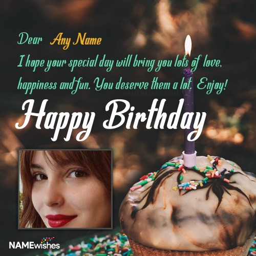Birthday Wishes with Name Editing For All Relations