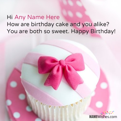 Birthday Wishes With Name For Girls