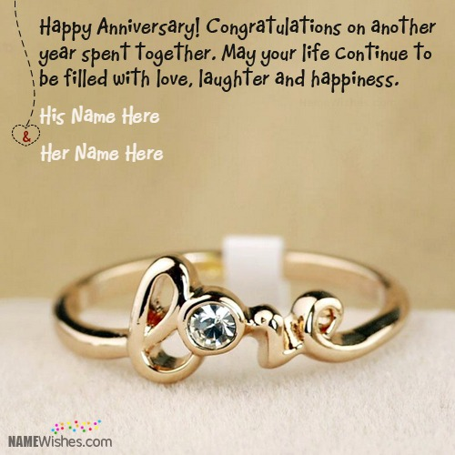 Congratulations on Cute Wedding Anniversary