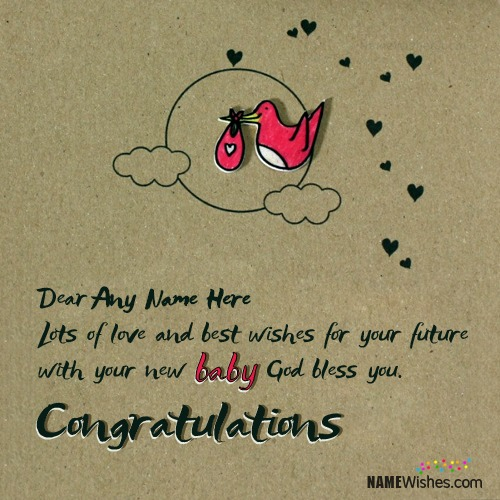 Congratulations Wishes On New Baby With Name