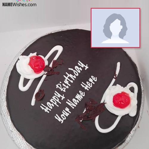 German Chocolate Birthday Cake With Friend Name