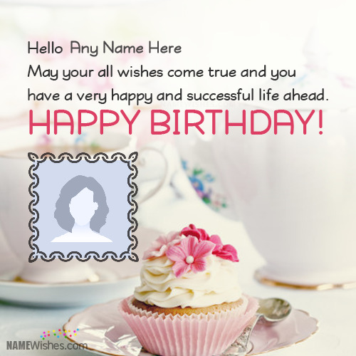 Happy Birthday eCards With Name